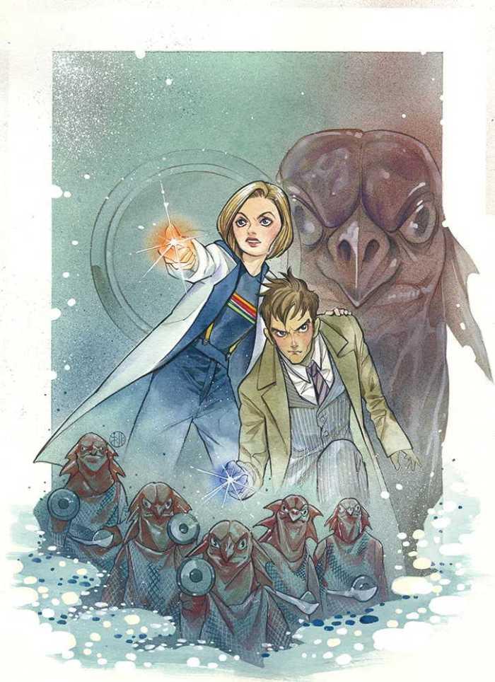 Doctor Who Comics #1 - Cover A (Momoko) - Forbidden Planet Variant