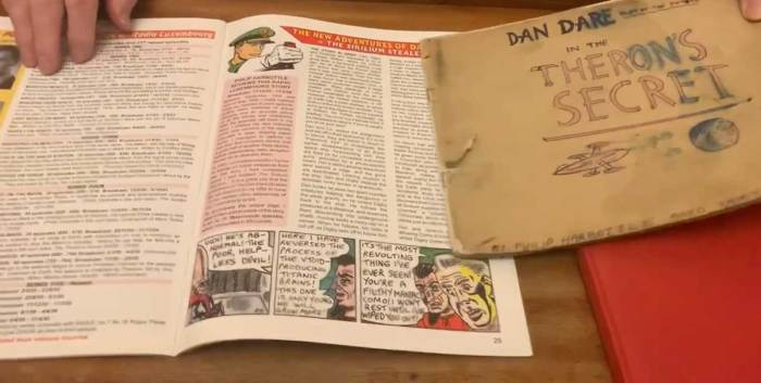 WebFind: Discovering 1950s British Science Fiction - Dan Dare and more