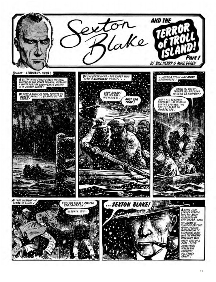 The Return of Sexton Blake - Sexton Blake by Chris Lowder and Mike Dorey