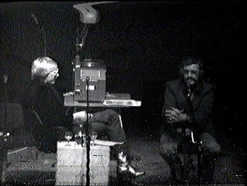 Unearthed: A rare video of Stan Lee captured in full flow at the Roundhouse in 1975, perched on a reversed office swivel chair, with mainly untouched glasses on the tea-chest in front of the epidiascope that artist Herb Trimpe will later draw on.(note the frame distortion at the top of the still, and speckling across the image). Find out more here