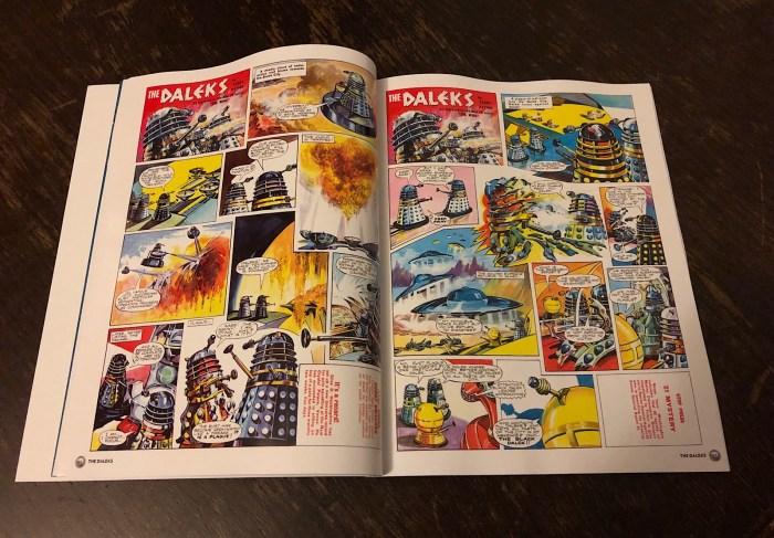 Doctor Who Magazine presents THE DALEKS - Sample Spread