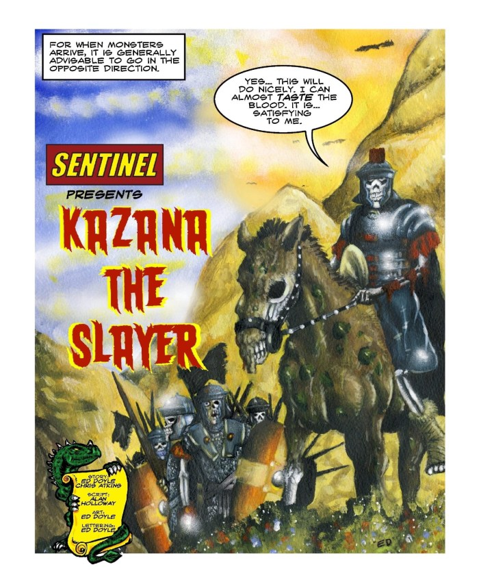 Sentinel #5 - Kazana The Slayer