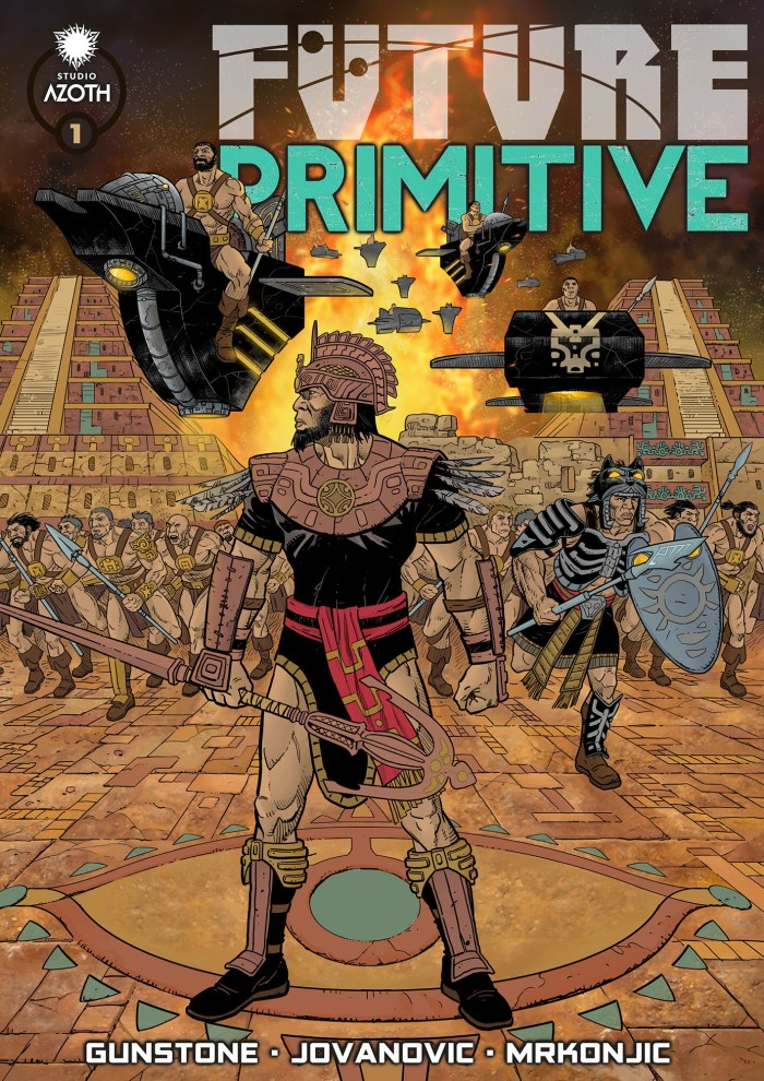 Future Primitive Magazine #1 Regular Cover by Boban