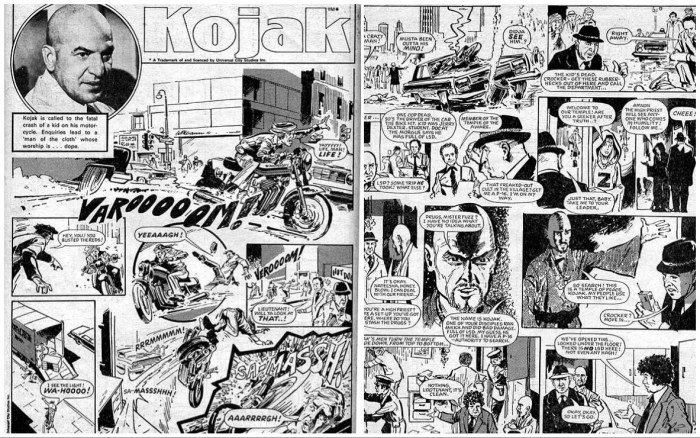 """Kojak"", drawn by Jon Davis, for Target"