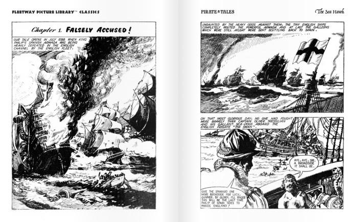 Fleetway Picture Library Classics - The Sea Hawk