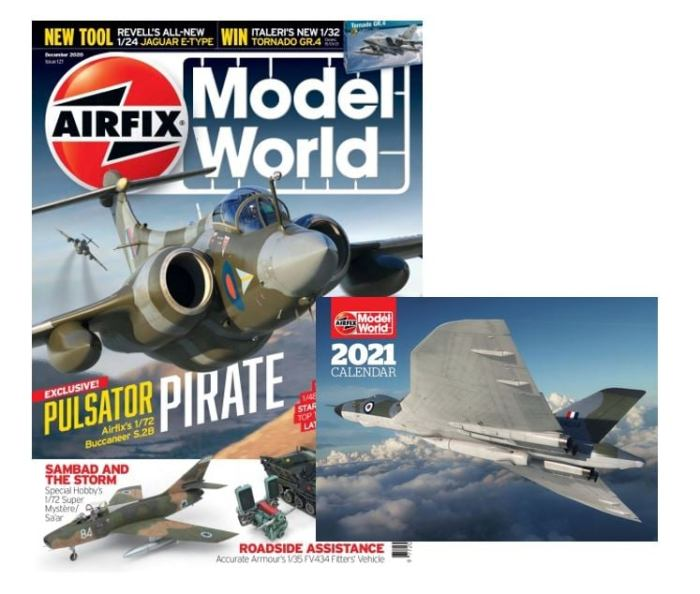 Airfix Model World  - December 2020 - with Free Calendar Gift