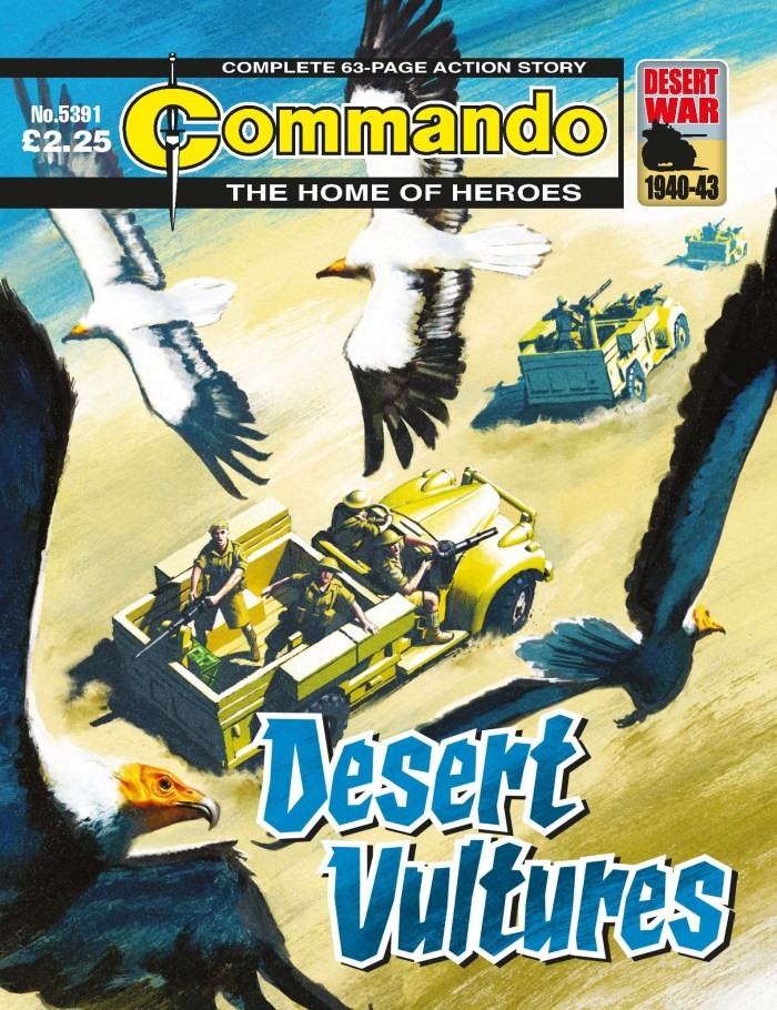Commando 5391: Home of Heroes: Desert Vultures