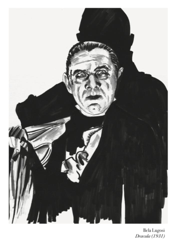 Dracula by Jessica Martin, for AUK
