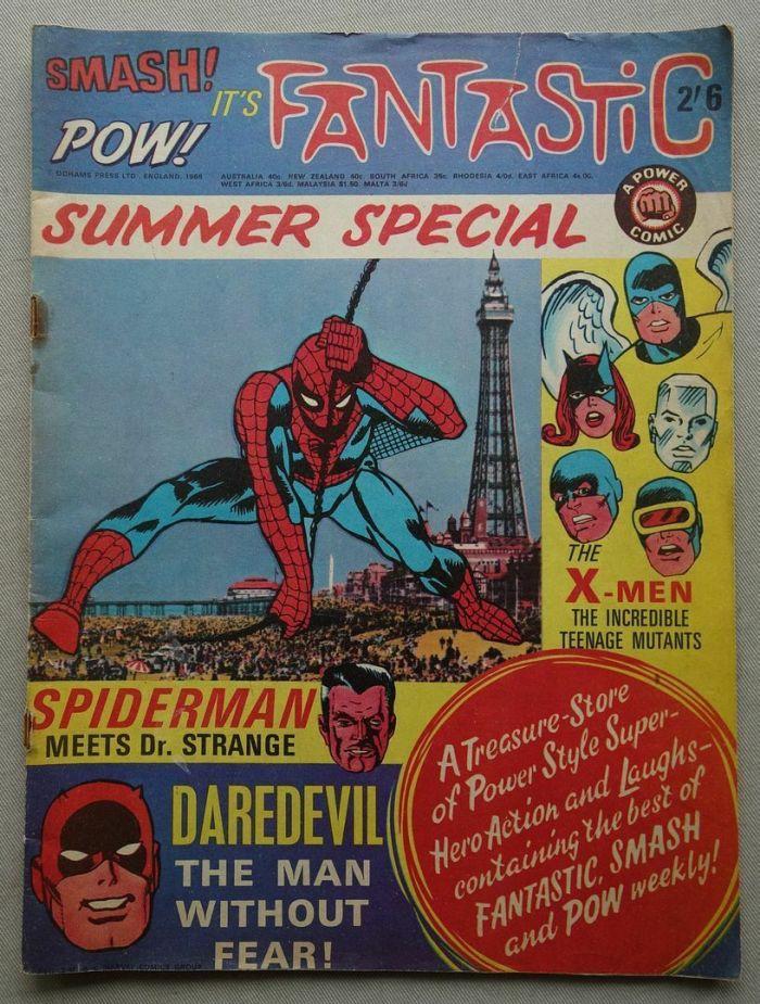 Fantastic, Smash, Pow Summer Special 1968
