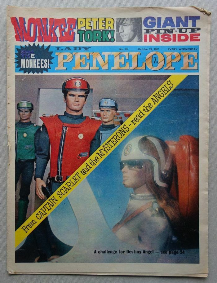 Lady Penelope 98 cover dated 28th October 1967