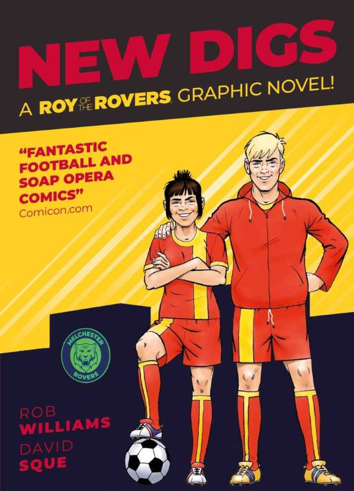 Roy of the Rovers: New Digs