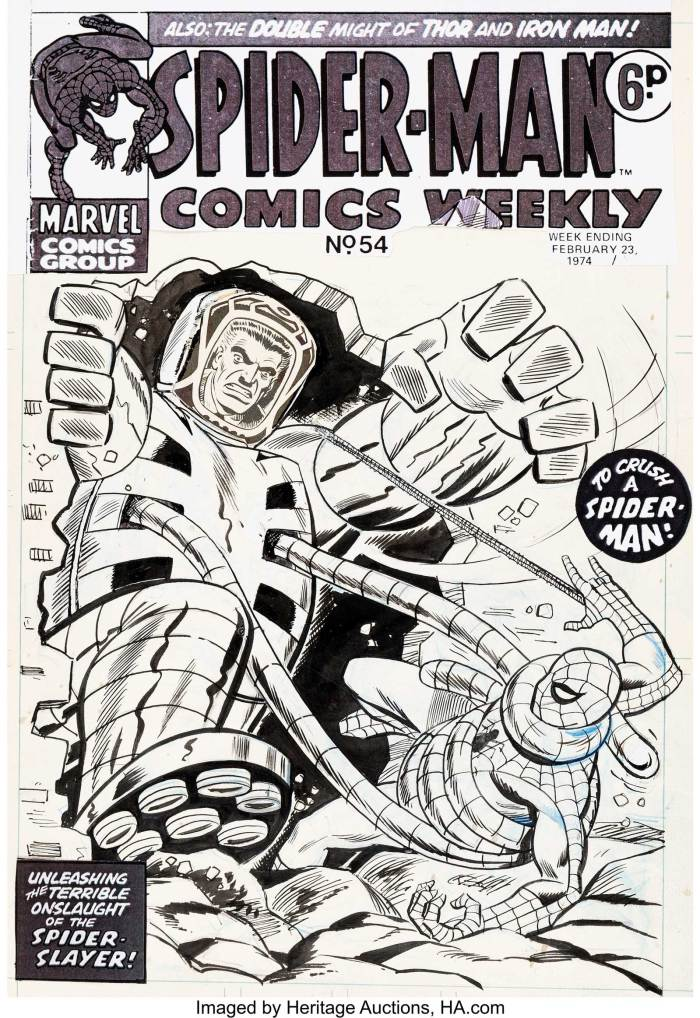 Spider-Man Comics Weekly #54 Cover