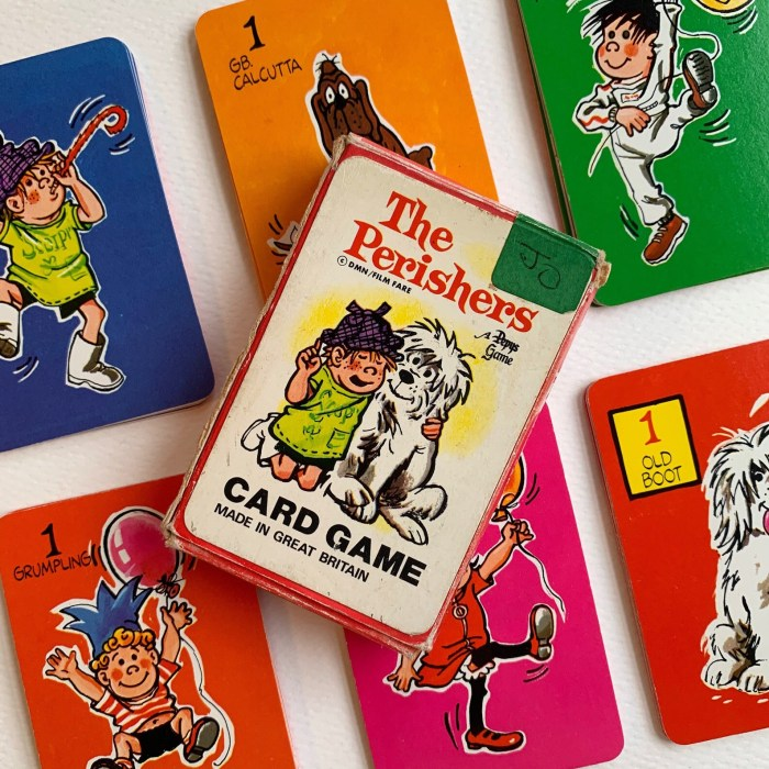 The Perishers memory game, released in 1974. Offered on Etsy here
