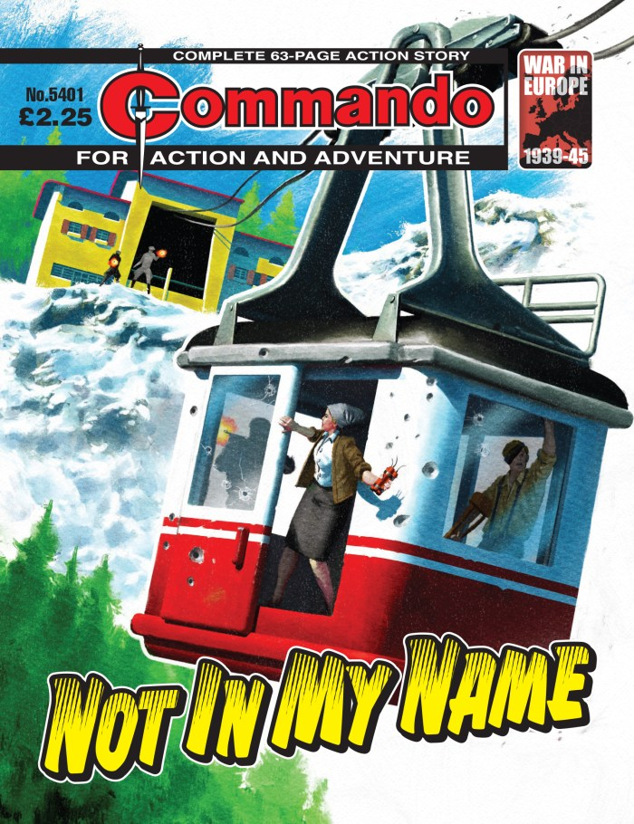 Commando 5401: Action and Adventure: Not in My Name