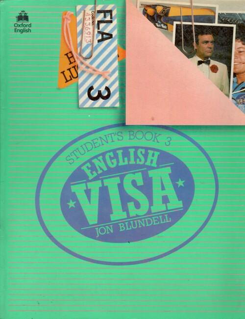 English Visa Student Work Book by Jon Blundell - 2002 edition