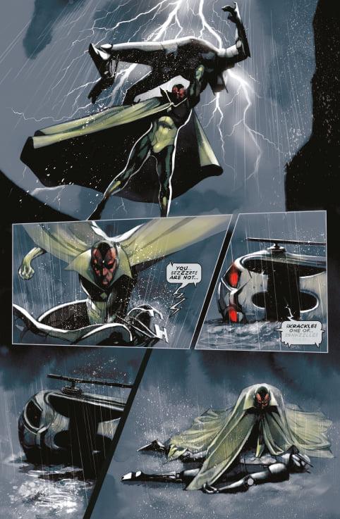 Panini Comics UK - Wanda The Scarlet Witch and Vision Bookazine Sample Art