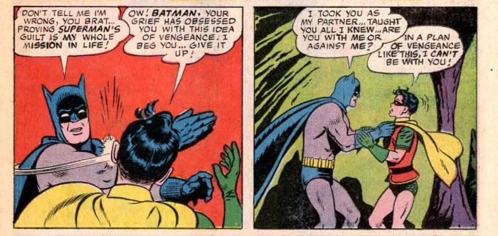 Panels from World's Finest #153