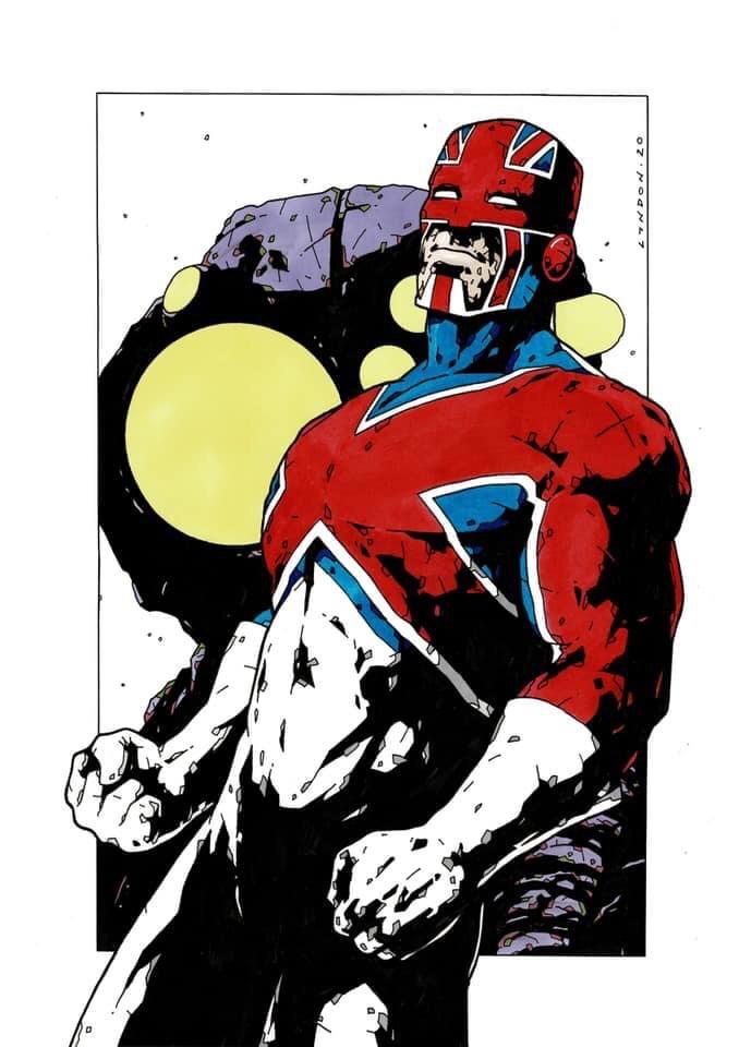 Captain Britain by Lyndon Webb