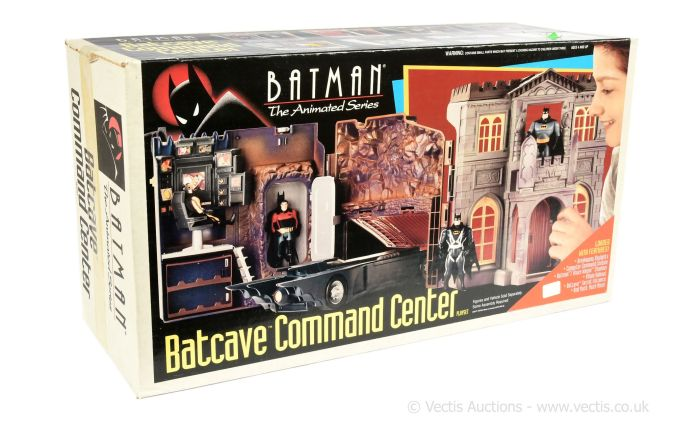 Kenner Batman The Animated Series Batcave Command Centre Playset