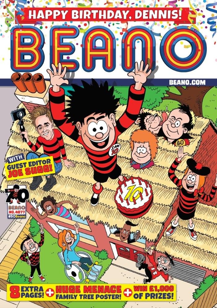 Beano 4077 - Beano Celebrates Dennis' 70th Anniversary