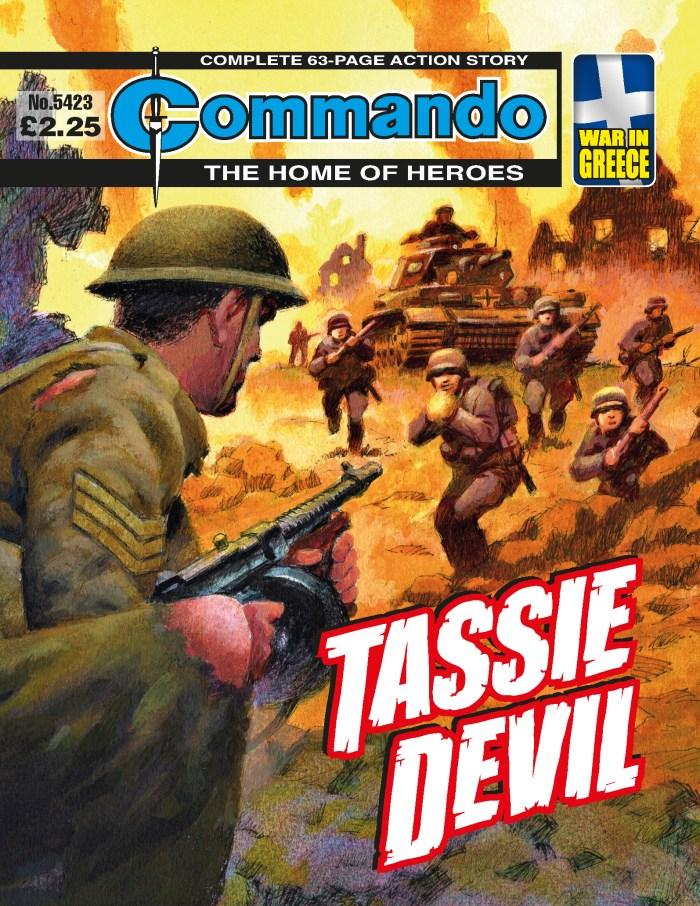 Commando 5423: Home of Heroes- Tassie Devil