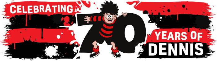 The Beano - Dennis 70th Anniversary