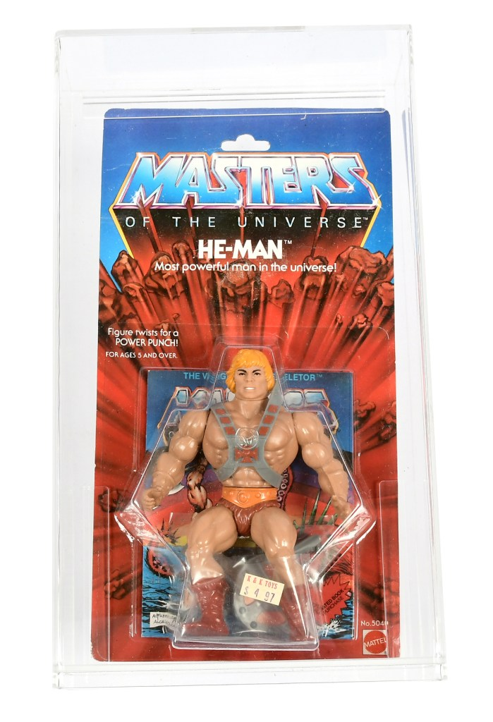 Mattel 1981 Masters of the Universe series 1 He-Man figure