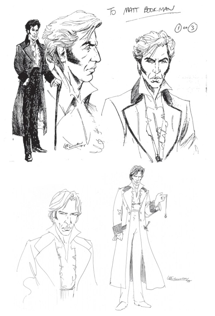 ROBOT - Initial designs for the new Doctor by Lee Sullivan