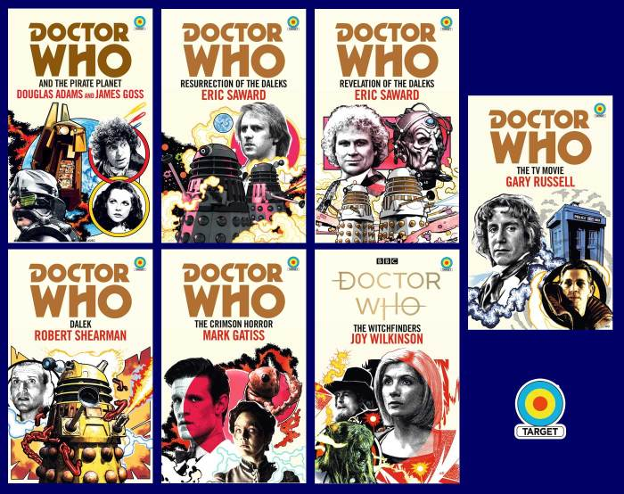 Doctor Who Target Books - 11th March 2021