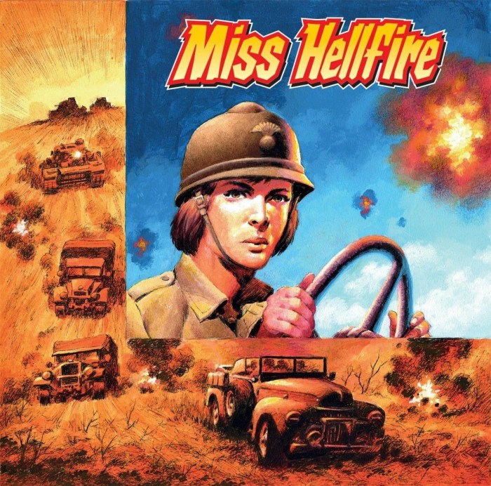 Commando 5415: Home of Heroes: Miss Hellfire Full
