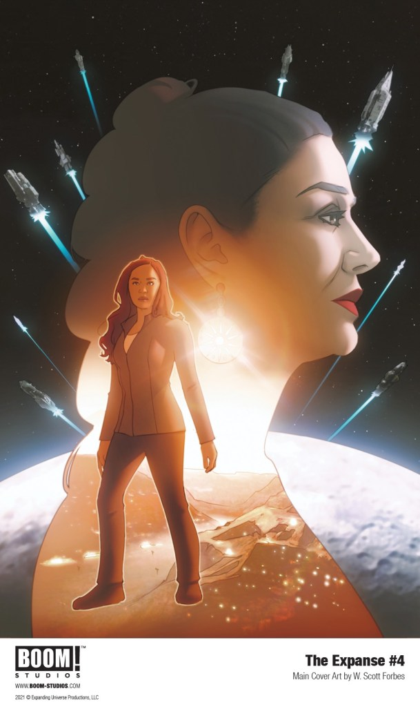 The Expanse #4 - Cover art by W. Scott Forbes