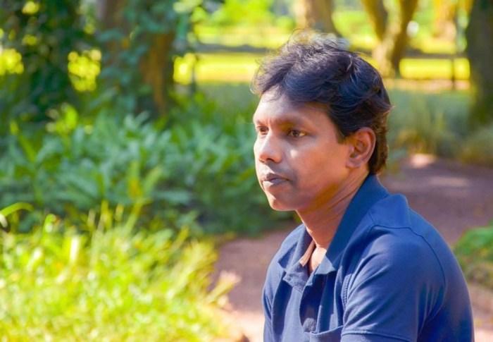 Artist Gayashan Elpiyita