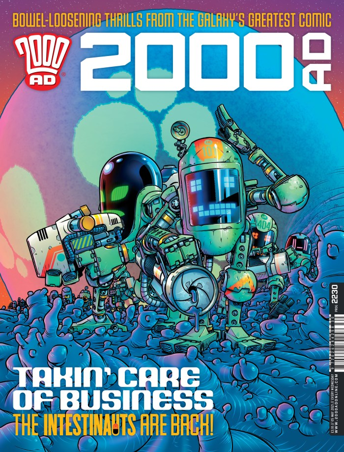 2000AD 2230 Cover by Pye Parr