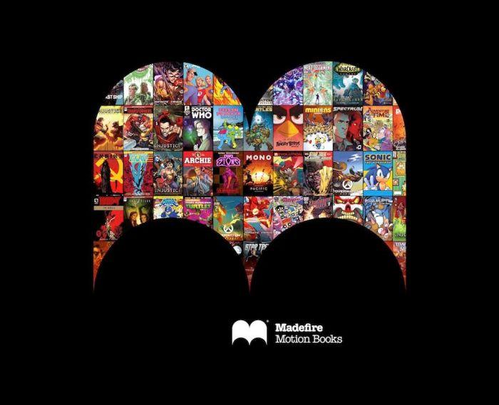 Madefire Illustrated Logo