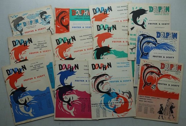 Dolphin Monthly Comic Magazine for Young People