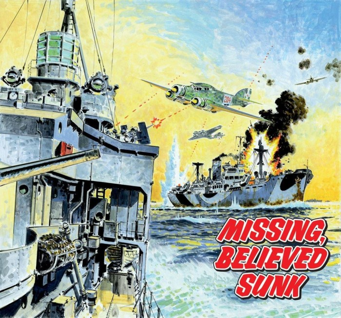 Commando 5430: Silver Collection - Missing, Believed Sunk Full