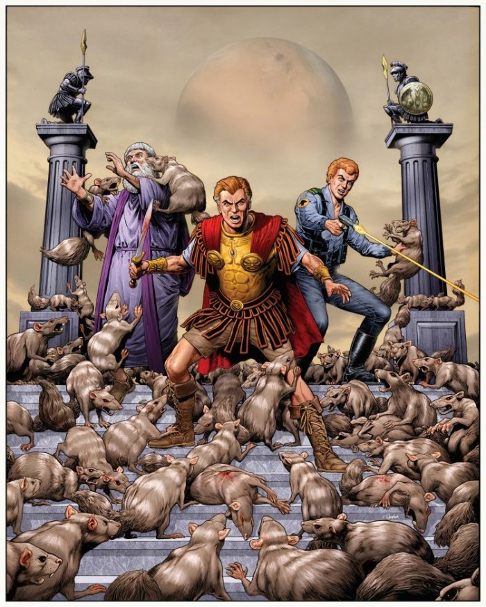 The Rise and Fall of the Trigan Empire Volume III web shop cover by Chris Weston