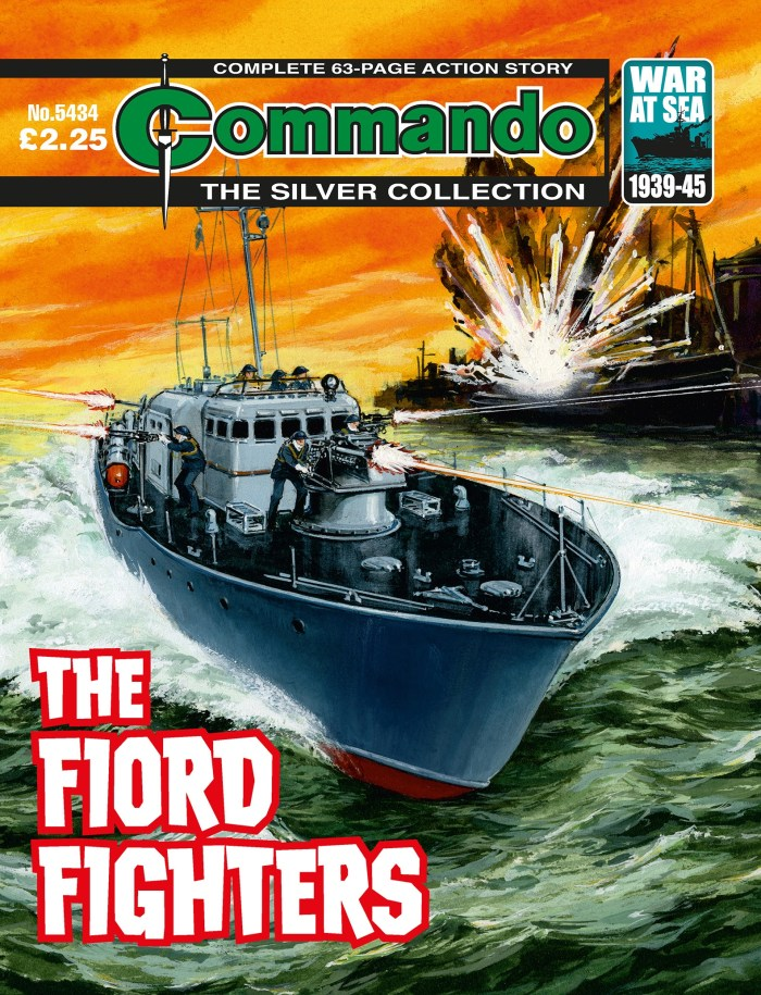 Commando 5434 Silver Collection: The Fiord Fighters