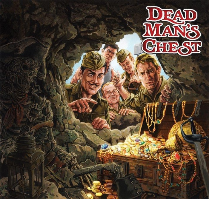 Commando 5433 Action and Adventure: Dead Man's Chest Full