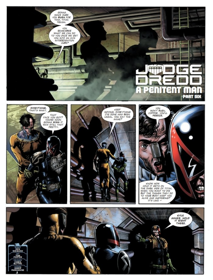 2000AD 2230 - Judge Dredd: The Penitent Man