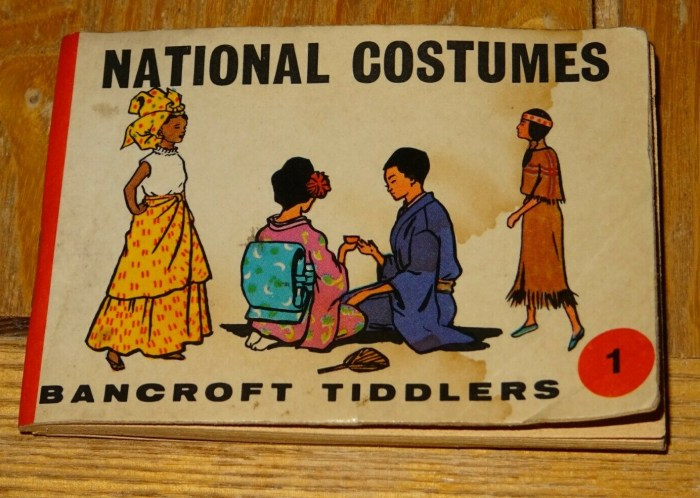 Bancroft Tiddlers 1 National Costumes