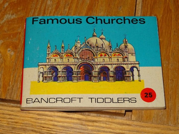 Bancroft Tiddlers 25 Famous Churches
