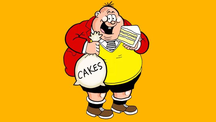 """The Beano's popular Bash Street Kid, Frederick """"Freddy"""" Brown, formerly known as """"Fatty"""""""