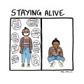 FML Comics - Staying Alive by Natasha Natarajan