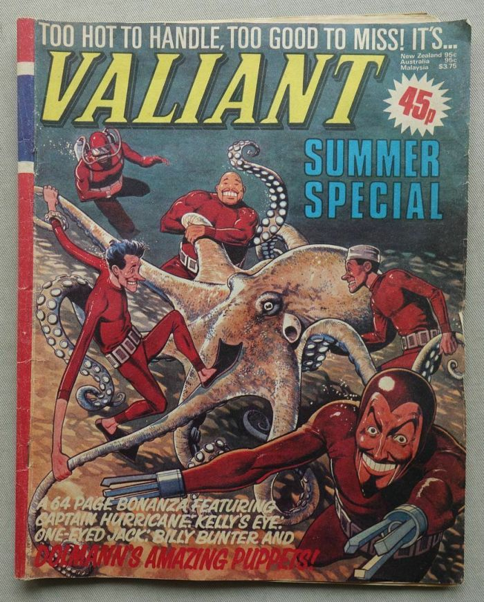 Valiant Summer Special 1980, with Brian Bolland cover