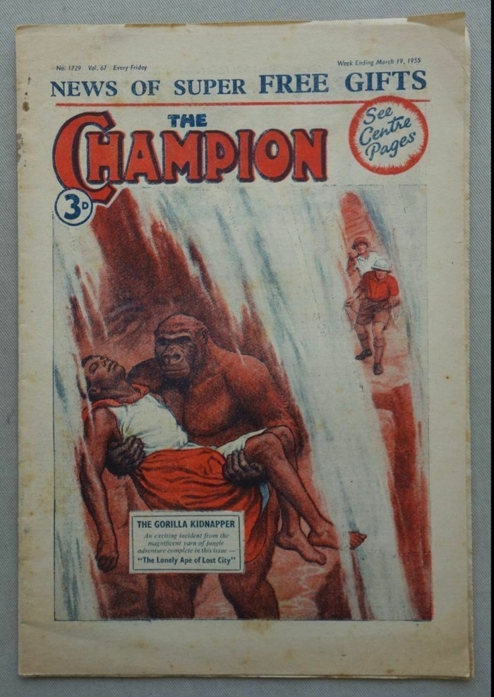 Champion storypaper 1729, cover dated 19th March 1955