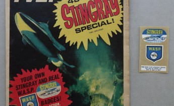 TV Century 21 Stingray Special, published in 1965, complete with free gift