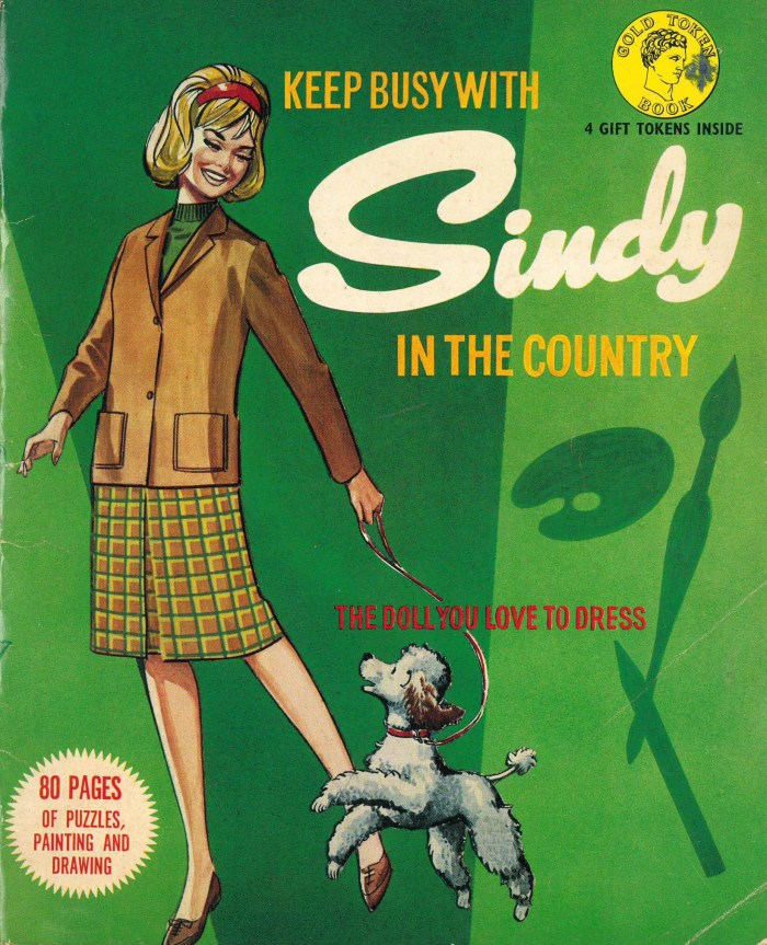 Sindy in the Country features a cover by Philip Townsend, with interior art by Rab Hamilton. From the collection of Deb Richardson