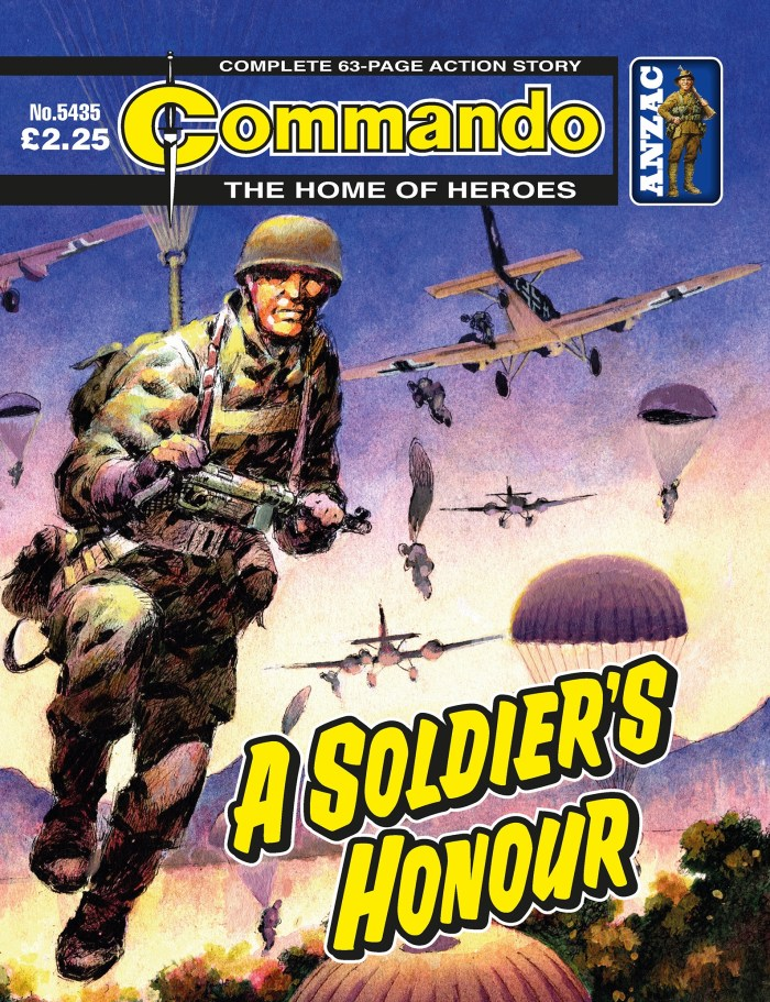 Commando 5435 Home of Heroes: A Soldier's Honour