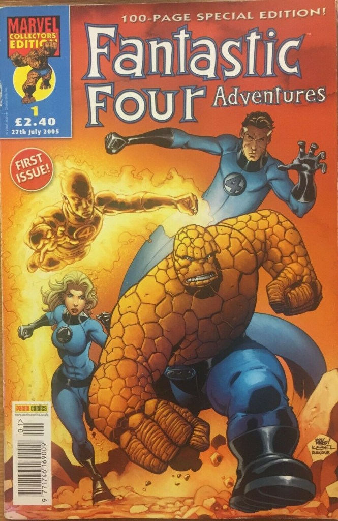 Fantastic Four Adventures #1, published in 2006